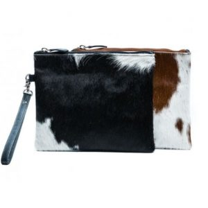 Jodie Hide Clutch Bag