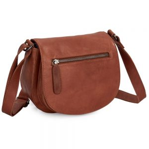 Adina Leather Handbag Cognac