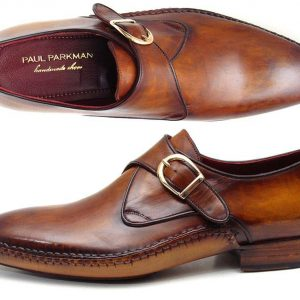 Single Monkstrap Brown Leather