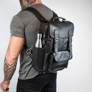 Mahi black backpack