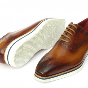 Paul Parkman Smart Casual Brown Oxfords