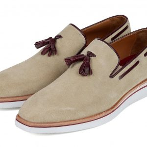 Paul Parkman Casual Beige Loafers