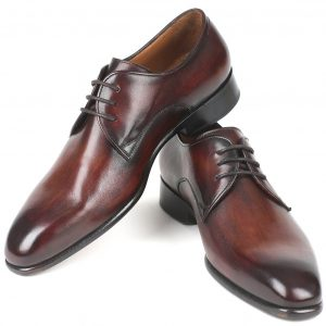 Antique brown Derby shoes