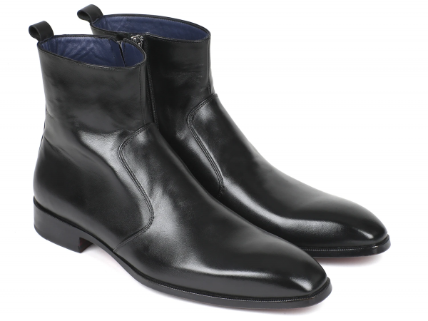 Paul Parkman Side Zip Black Boot