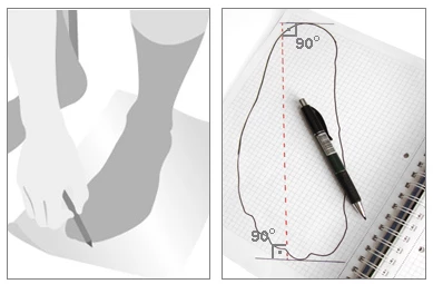 How to measure your feet for shoe sizing